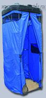 Летний душ синий