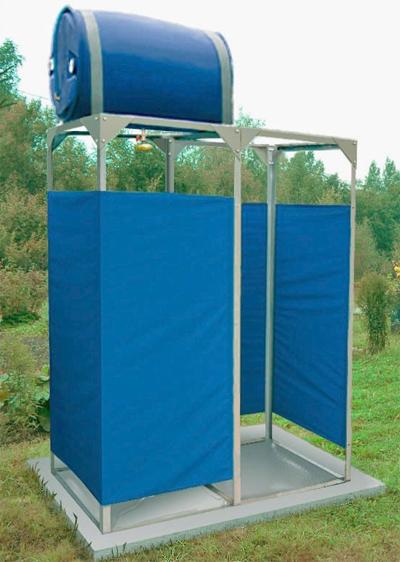 Дачный душ своими руками в santexteplo.ru
